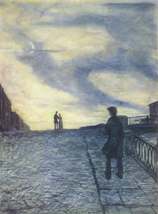Образ петербурга у достоевского в романе белые ночи
